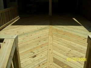 Custom Home Decks Mobile AL
