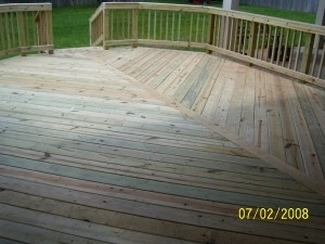 Custom Wood Decks Baldwin AL